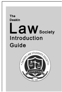 First Year Introduction Guide (2014) Cover
