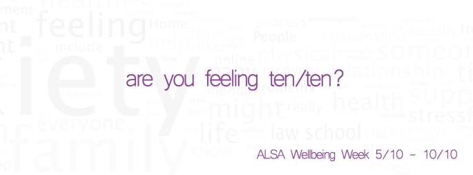 alsa wellbeing week 2015