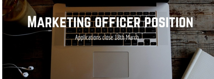 Applications close 18th March