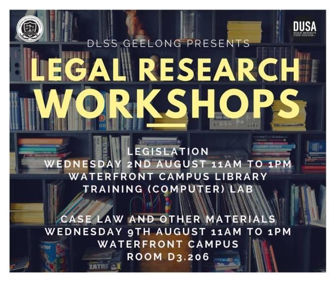 legal workshops