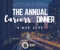 careers dinner post